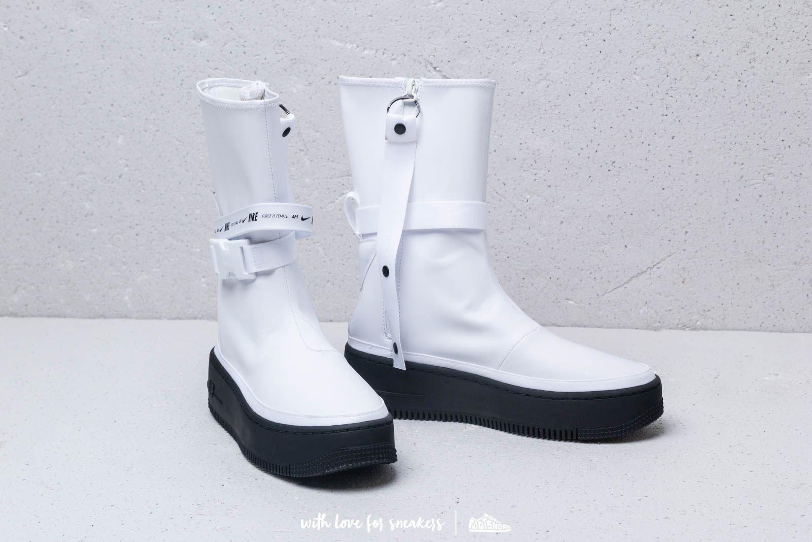 cheap for discount 915ed 61990 Nike W Air Force 1 Sage Hi White/ White-Black | Footshop