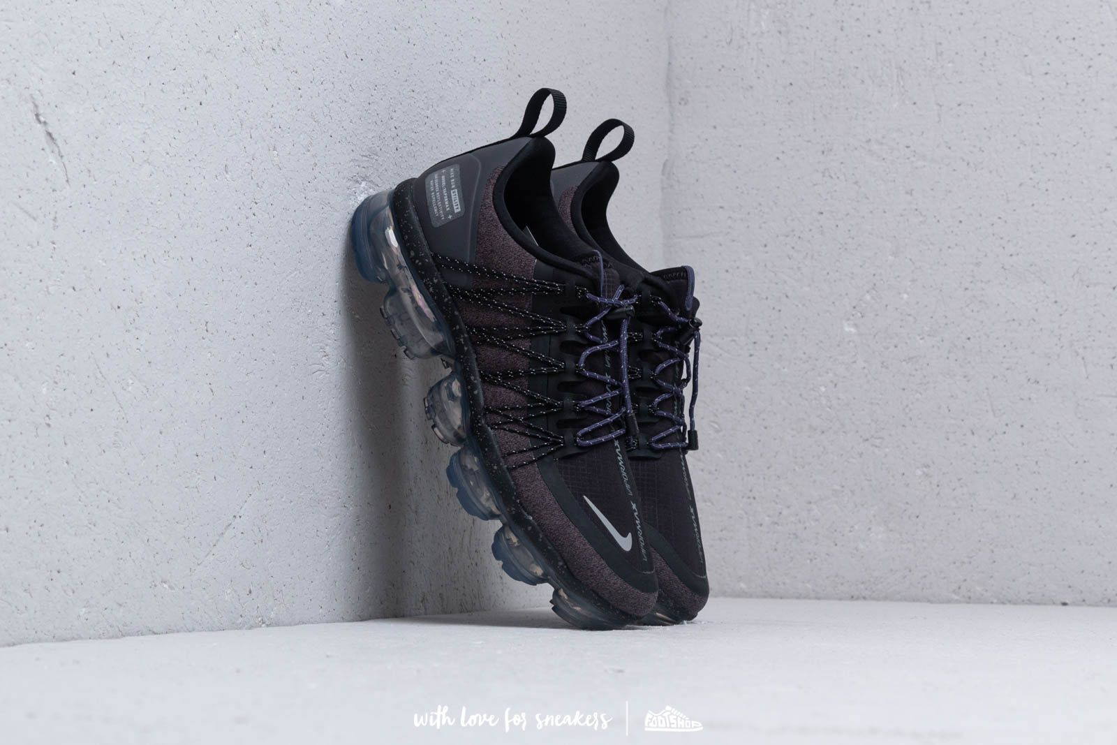 21e23fb077 Nike W Air Vapormax Run Utility Black/ Reflect Silver | Footshop