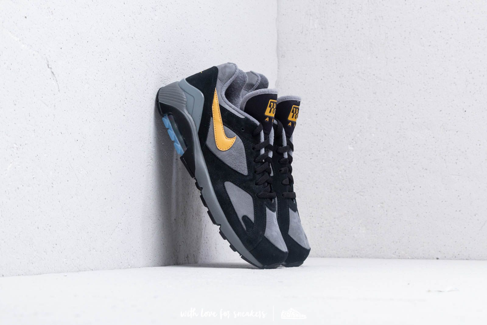 f95fa4e83b Nike Air Max 180 Cool Grey/ Wheat Gold-Black at a great price £