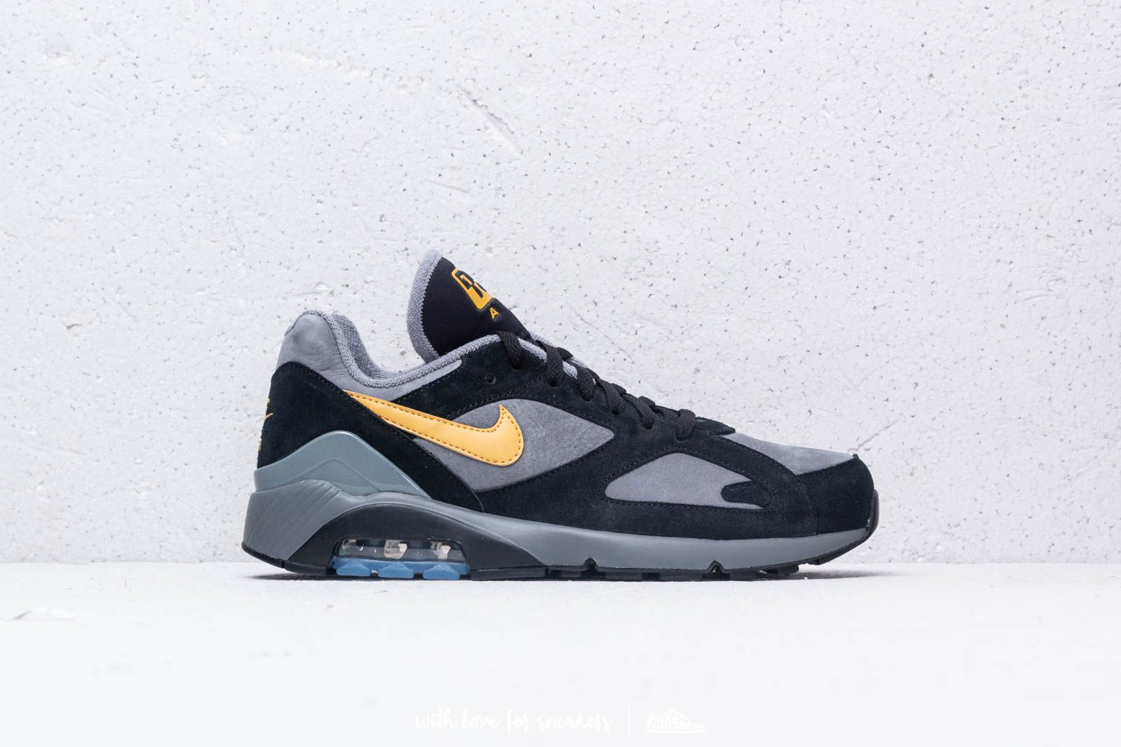 822c4ed77a1b Nike Air Max 180 Cool Grey  Wheat Gold-Black at a great price 147