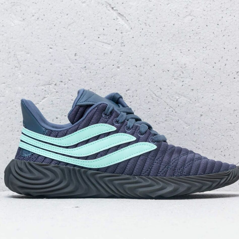 adidas Sobakov J Grey Four/ Clear Mint/ Ftw White, Blue