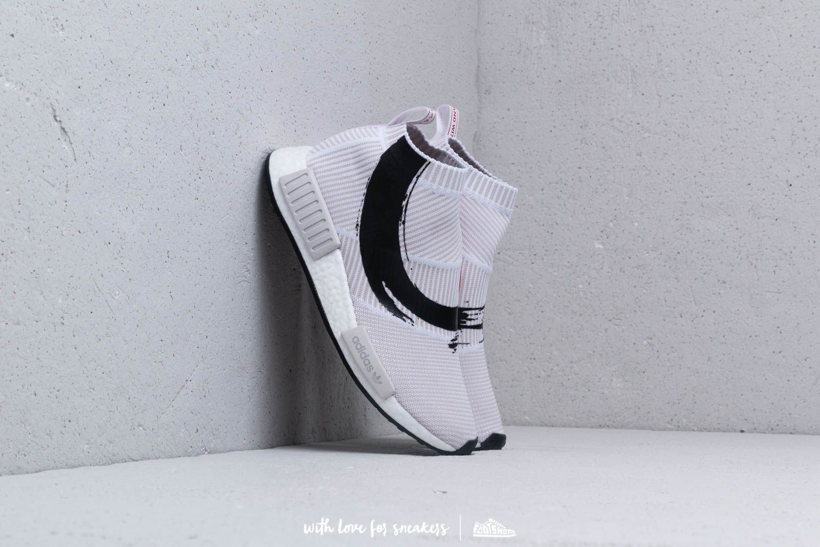 adidas NMD_CS1 Primeknit Ftw White/ Ftw White/ Core Black