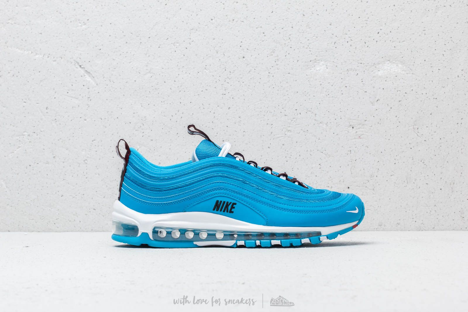on sale d5702 45254 Nike Air Max 97 Premium Blue Hero  White  Black at a great price 183