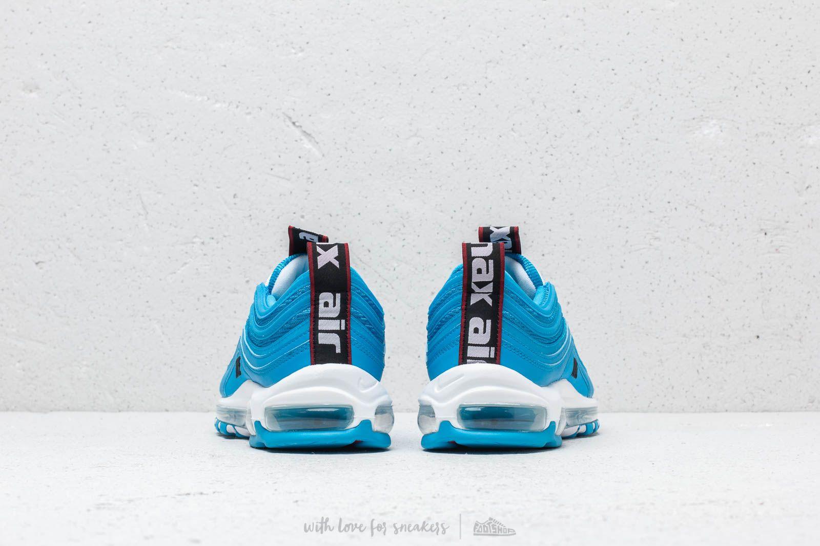 Nike Air Max 97 Premium Blue Hero  White  Black at a great price 183 7bdac70120f0