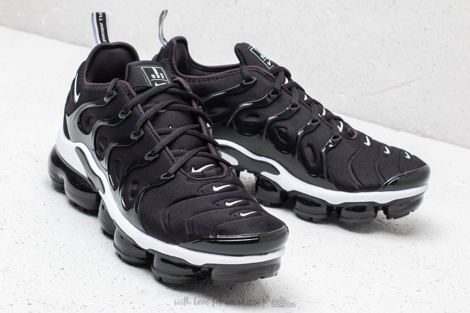 Nike Air Vapormax Plus Black  White at a great price  245 buy at Footshop b016e9aa87c