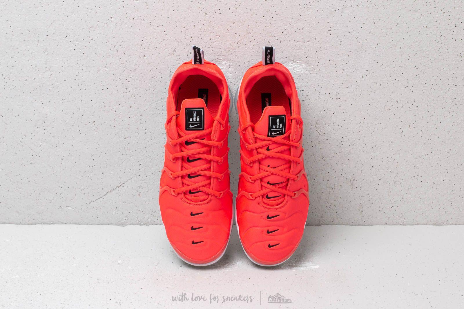 Nike Air Vapormax Plus Bright Crimson Black White   Footshop