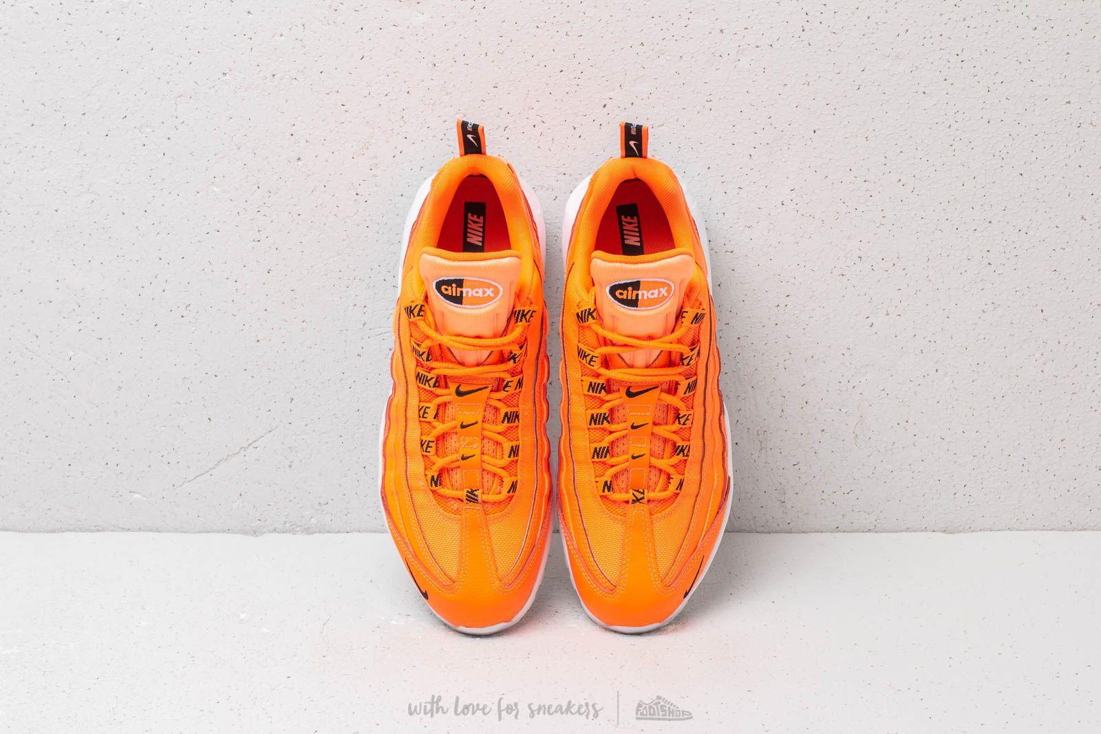 nike air max 95 premium total orange