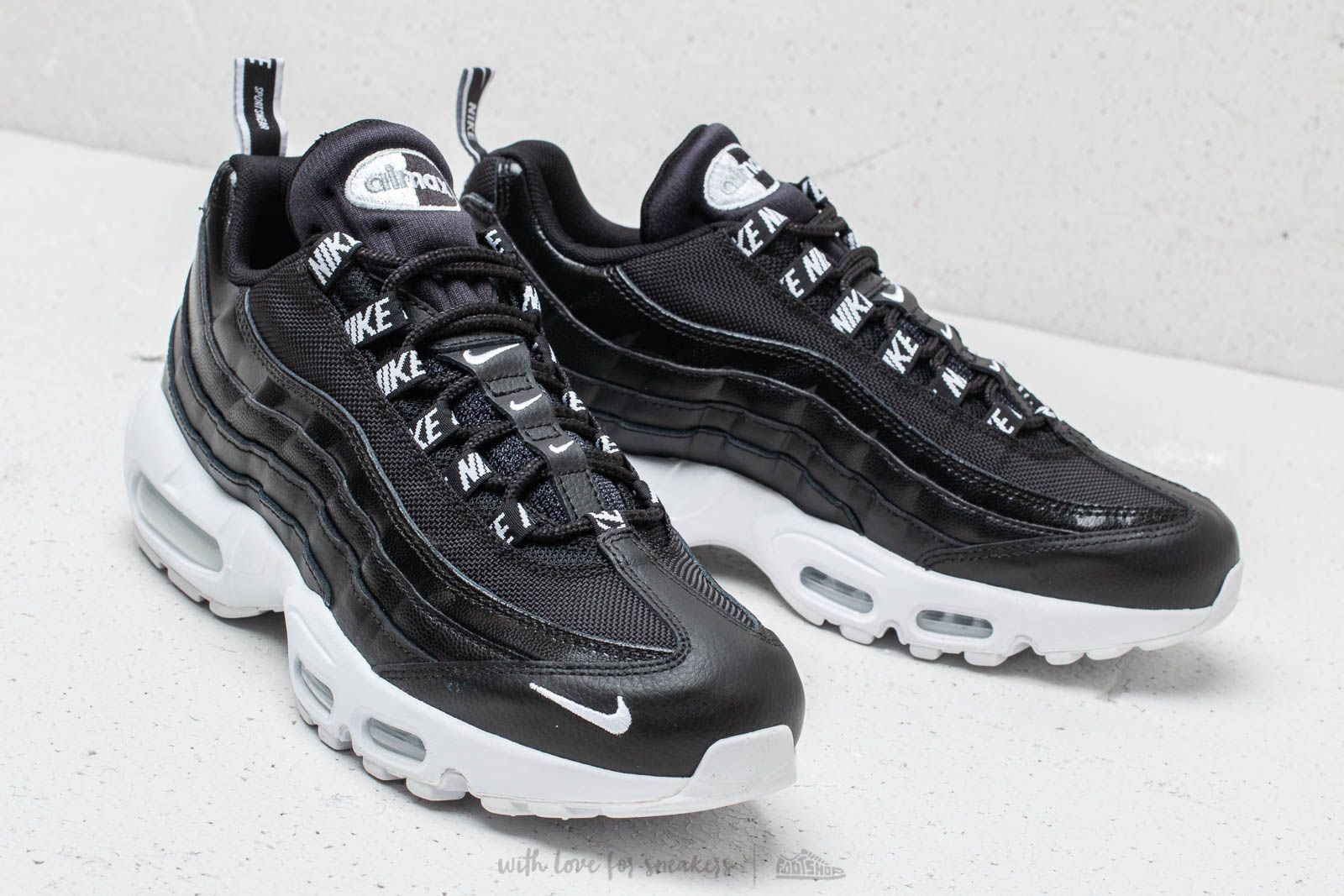 Nike Air Max 95 Premium Black  White  Black at a great price 172 € c2b710229d