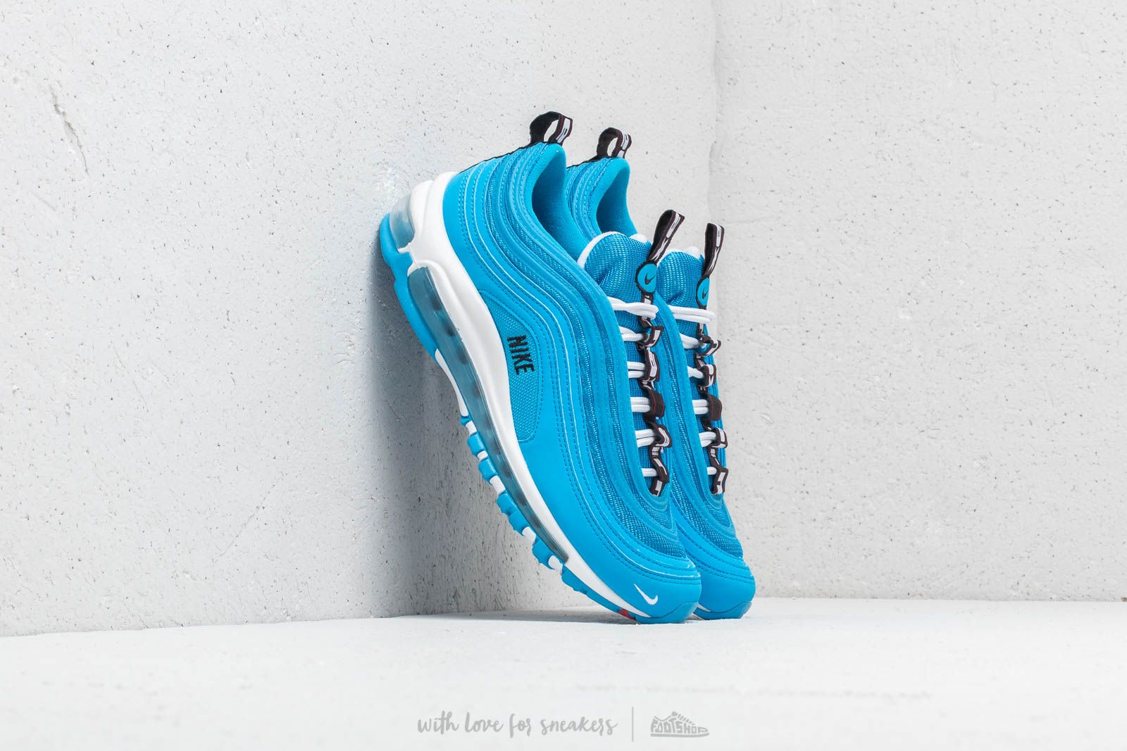 check out f3461 f403a Nike Air Max 97 SE (GS) Blue Hero  White-Black at a