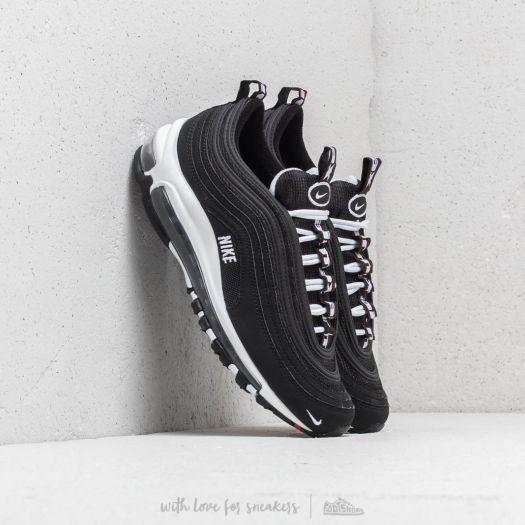 Nike Air Max 97 SE (GS) Black White Varsity Red | Footshop