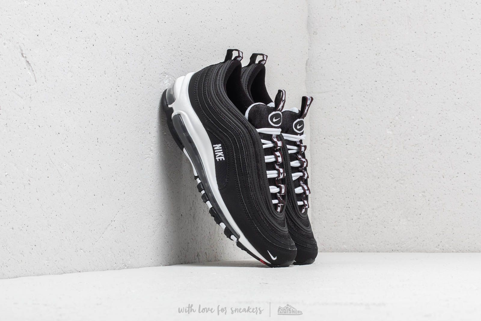 1453dec2b14fe Nike Air Max 97 SE (GS) Black  White-Varsity Red