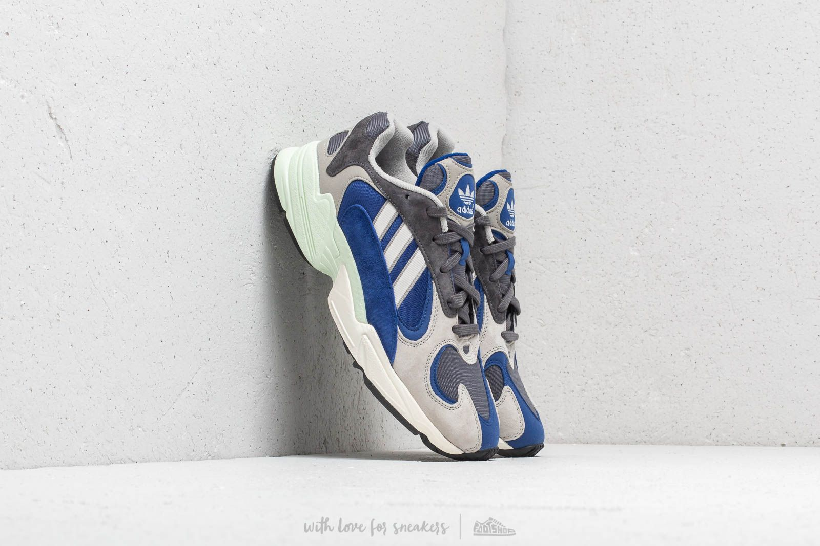 86d64b95317498 adidas Yung-1 Sesame  Grey Five  Chalk White at a great price 117