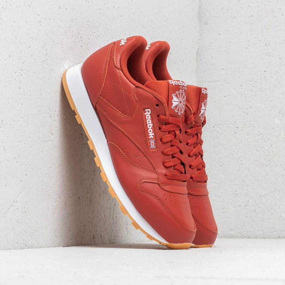 Reebok Classic Leather MU Burnt Amber/ White/ Gum EUR 45