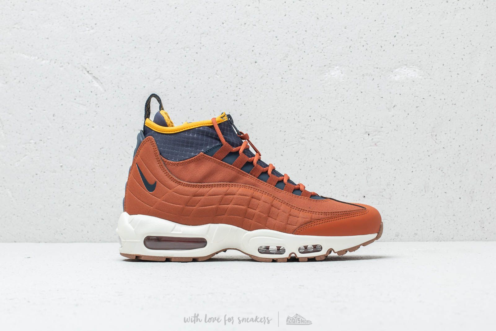 Nike Air Max 95 Sneakerboot Dark Russet Thunder Blue | Footshop