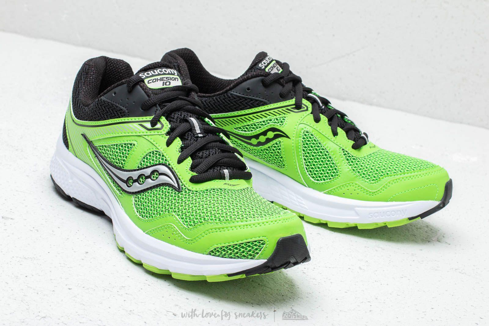 2d62f6ea Saucony Grid Cohesion 10 Green/ Black | Footshop
