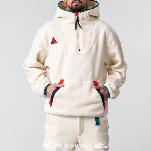 marco Pies suaves cubrir  Sudaderas y suéteres Nike ACG Sherpa Fleece Hoodie Light Cream