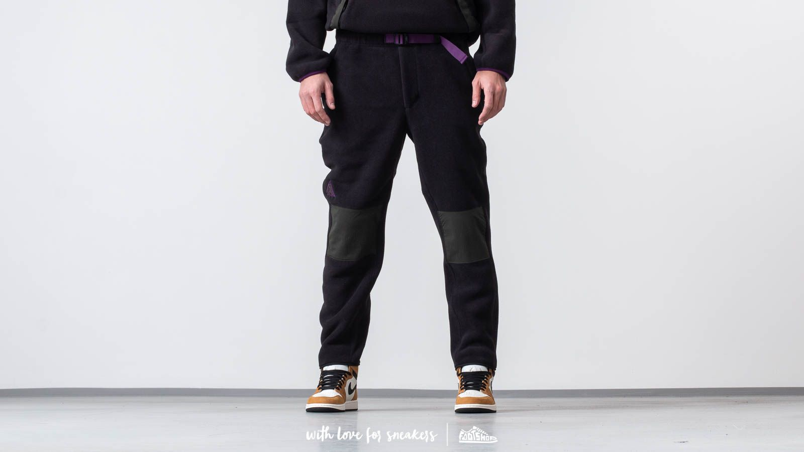Nadrágok Nike ACG Fleece Pants Black