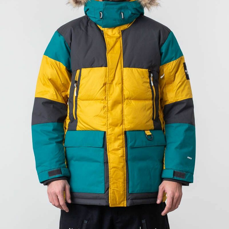 The North Face Vostok Parka Leopard Yellow M