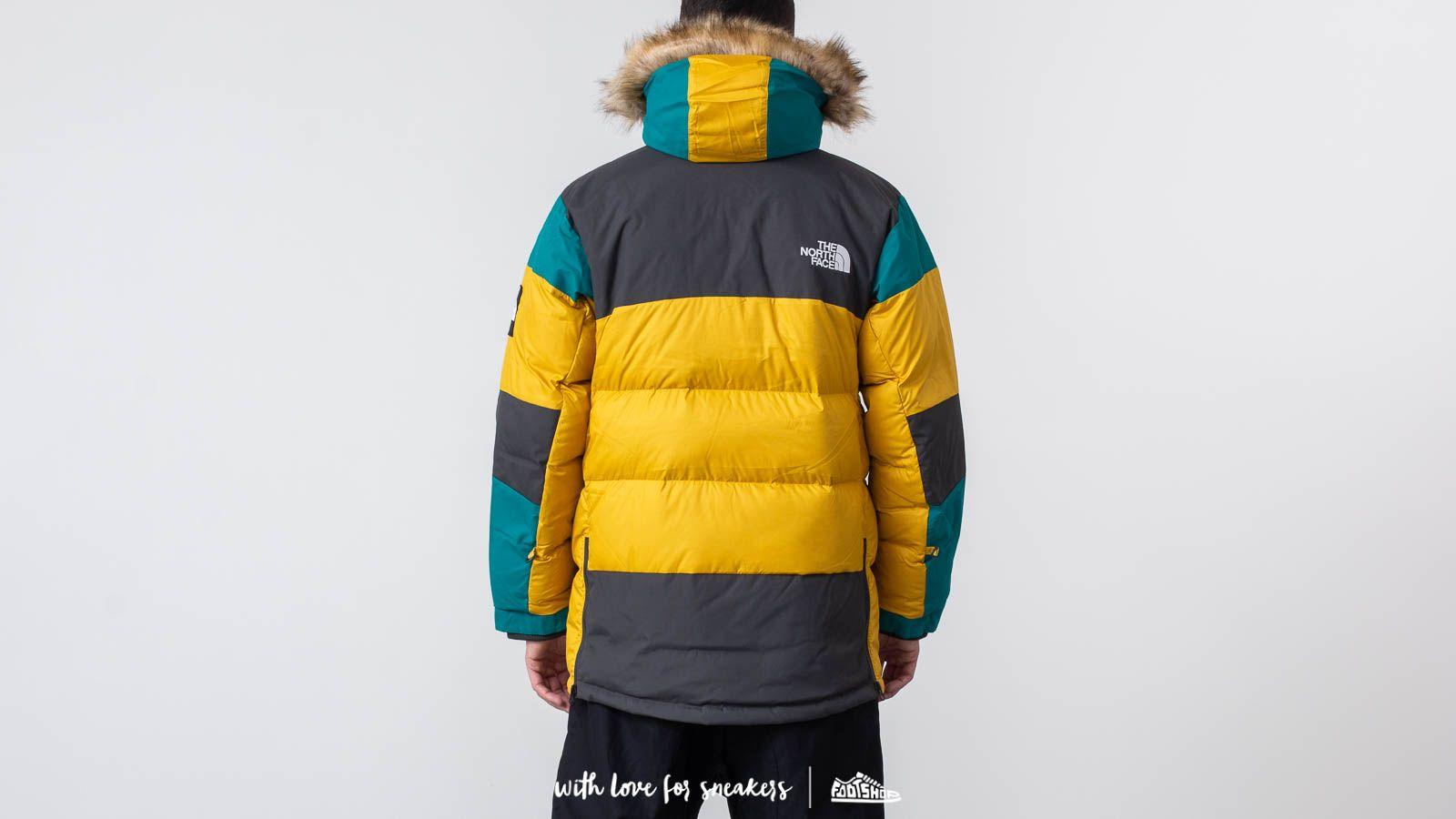 5cca4516b2 The North Face Vostok Parka Leopard Yellow au meilleur prix 447 € Achetez  sur Footshop