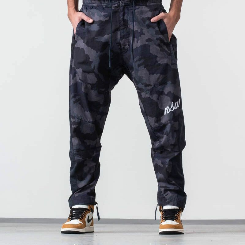 Nike Sportswear Jogger Pants Camo, Gray