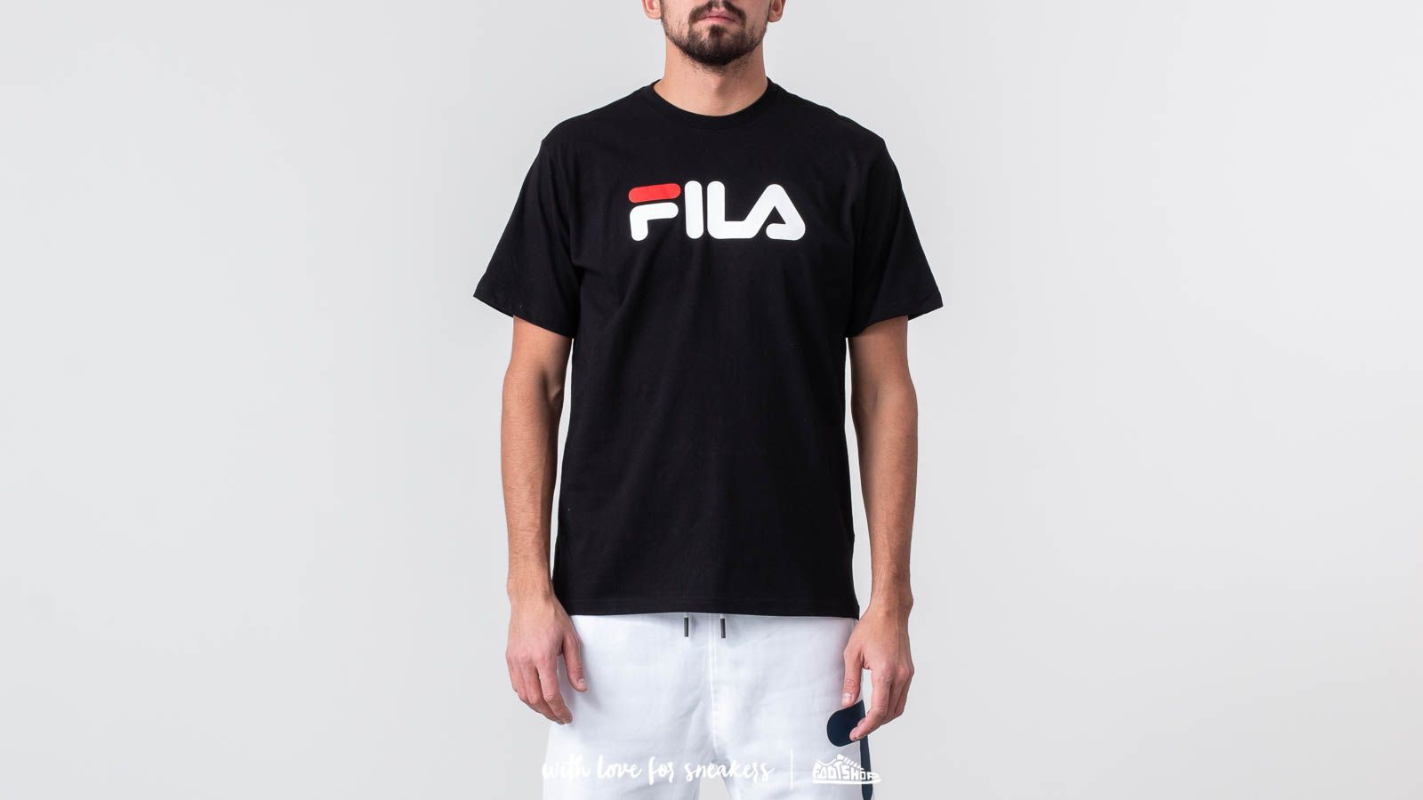 FILA Classic Pure Tee Black at a great price £26 buy at Footshop 12540b0c7af