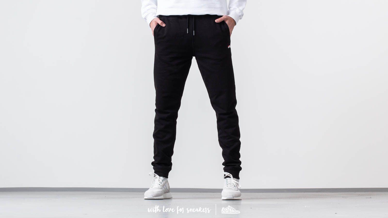 3e7edc6654ffd FILA Pure Slim Pants Black   Footshop