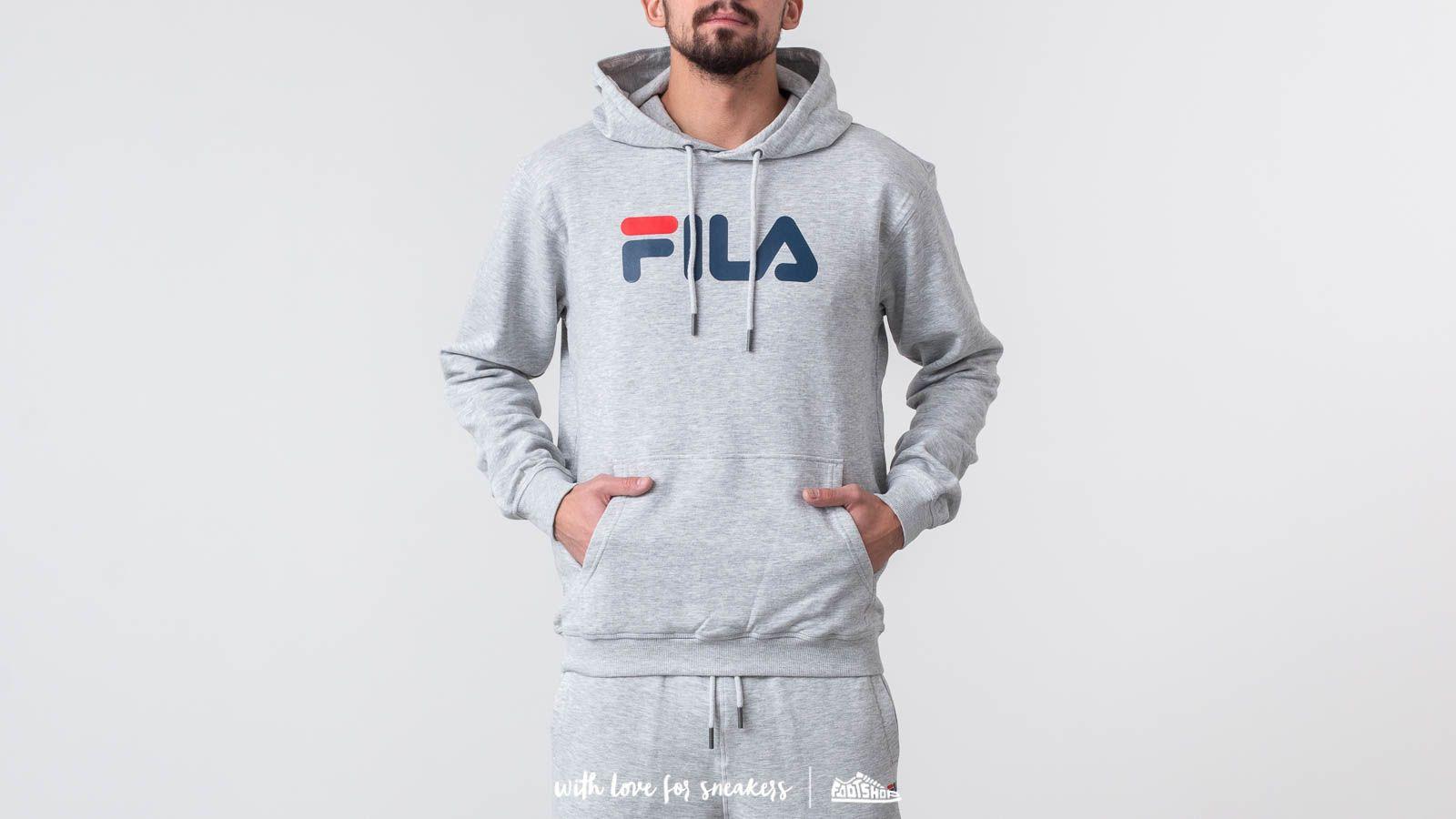 FILA Pure Hoodie Light Grey/ Melange Bros za skvelú cenu 38 € kúpite na Footshop.sk