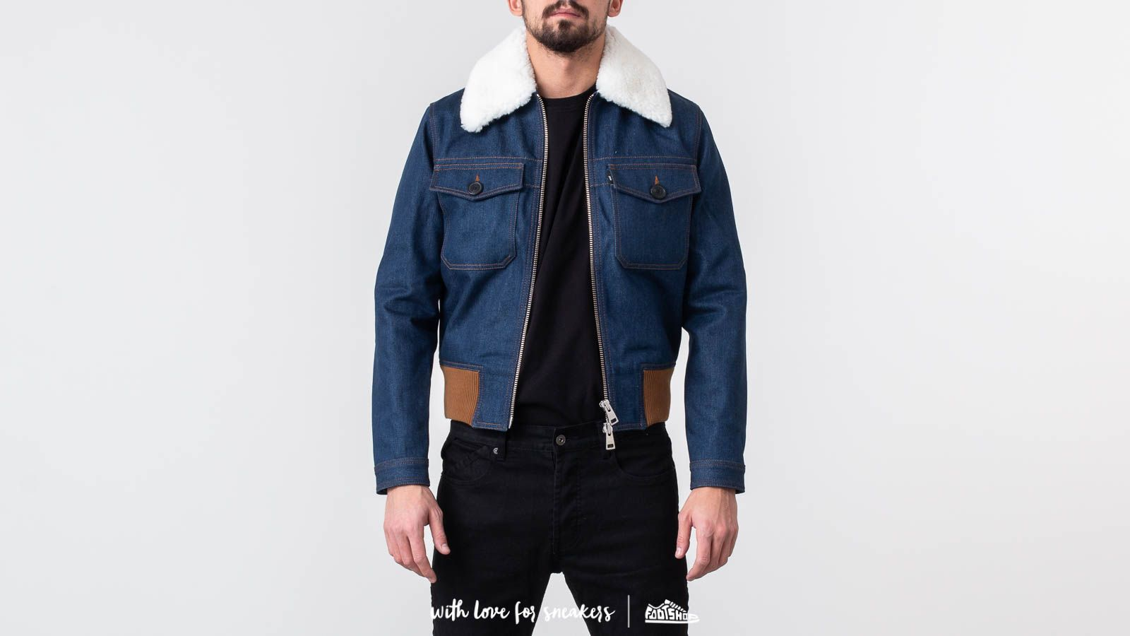 Alexandre Mattiussi Zipped Denim Jacket