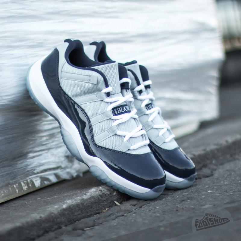 6b47df68b6 Air Jordan 11 Retro Low Grey Mist/White/Midnight Navy | Footshop