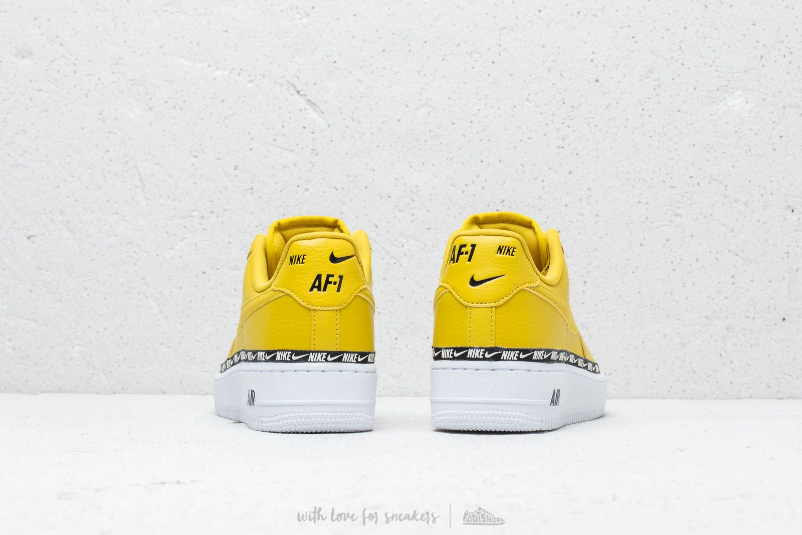 Nike Wm's Air Force 1 '07 SE Premium Bright Citron Bright Citron | Footshop