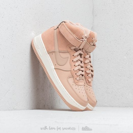 Nike Wmn's Air Force 1 HI Bio Beige Bio Beige Sail | Footshop