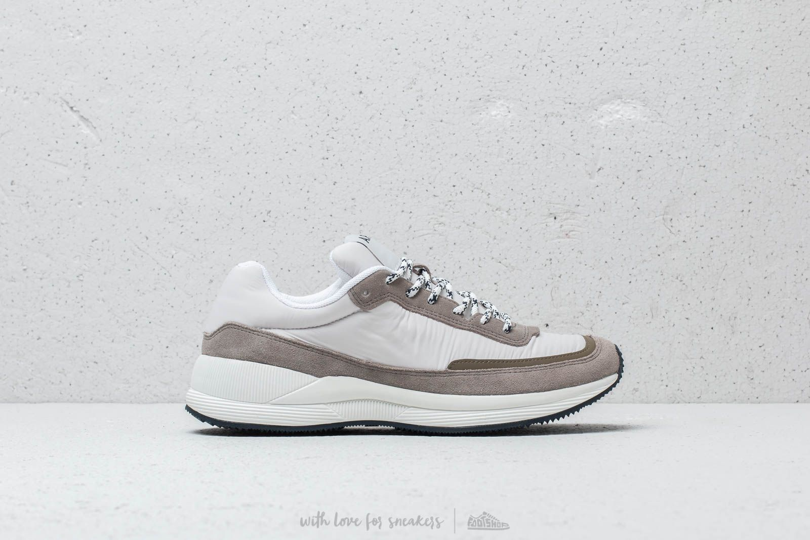Men's shoes A.P.C. Running Homme White