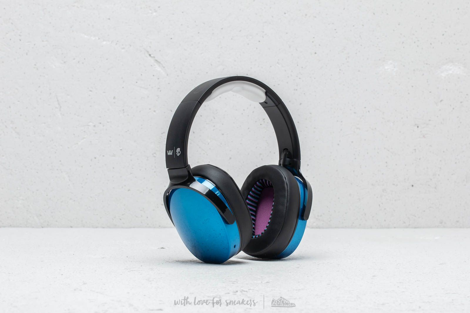 Supra x Scullcandy Hesh 3.0 BT Headphones Black/ Blue