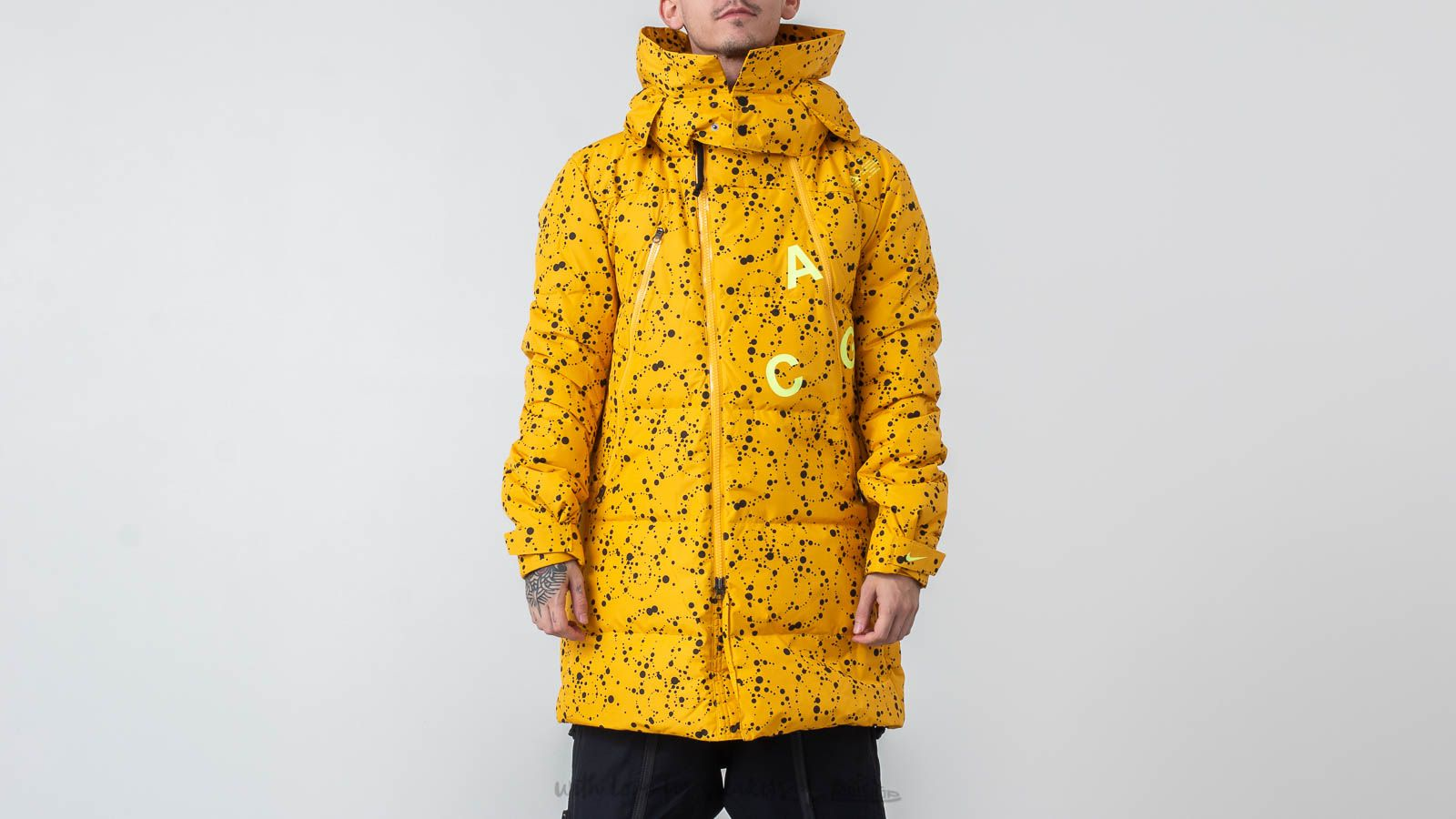 Jassen Nike ACG Down Fill Parka Yellow Ochre