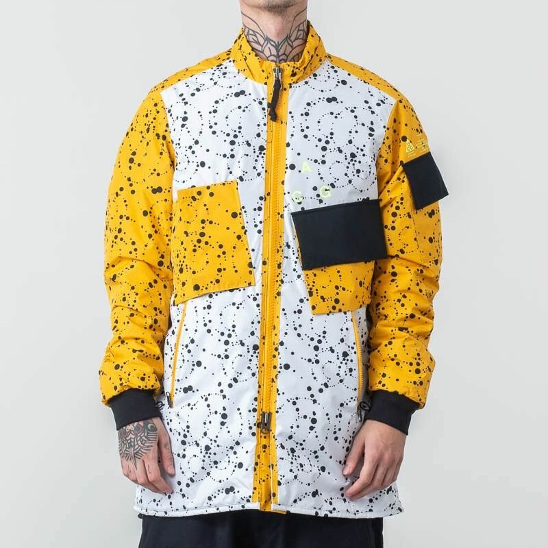 Nike ACG Insulated Jacket White Yellow Ochre