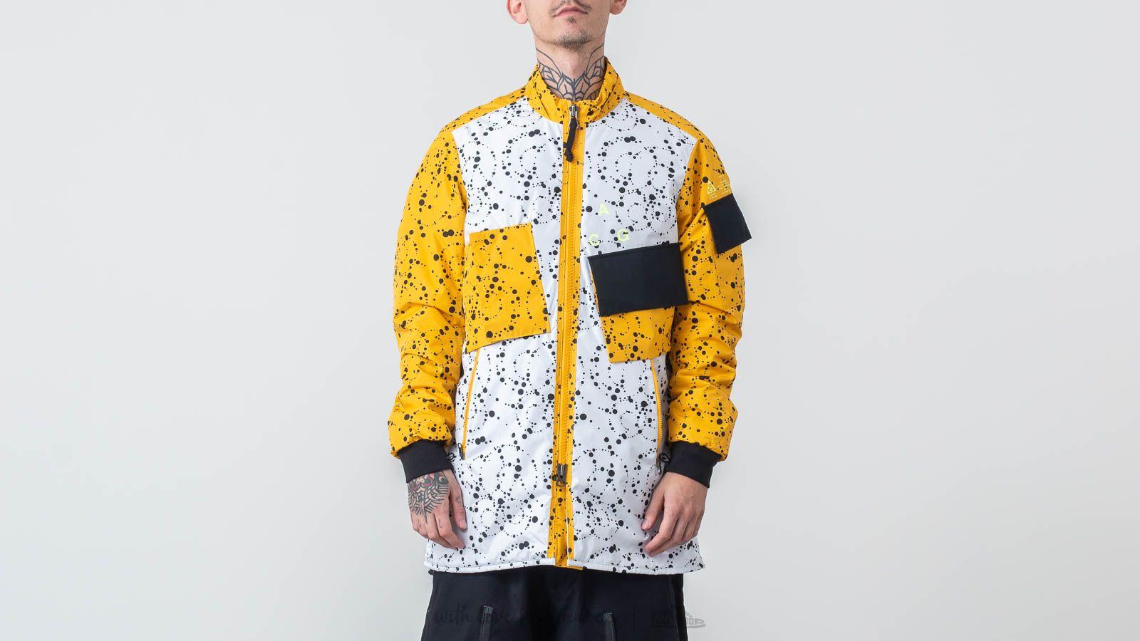 b6c0bc3de8 Nike ACG Insulated Jacket White  Yellow Ochre au meilleur prix 341 €  Achetez sur Footshop