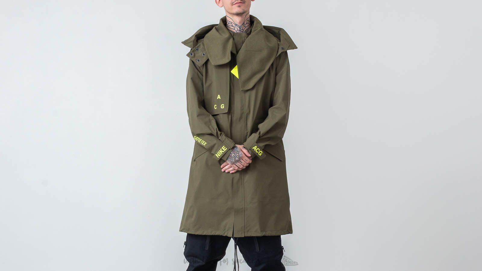 Nike ACG Gore-Tex® Coat Olive Canvas/ Volt Glow za skvelú cenu 372 € kúpite na Footshop.sk