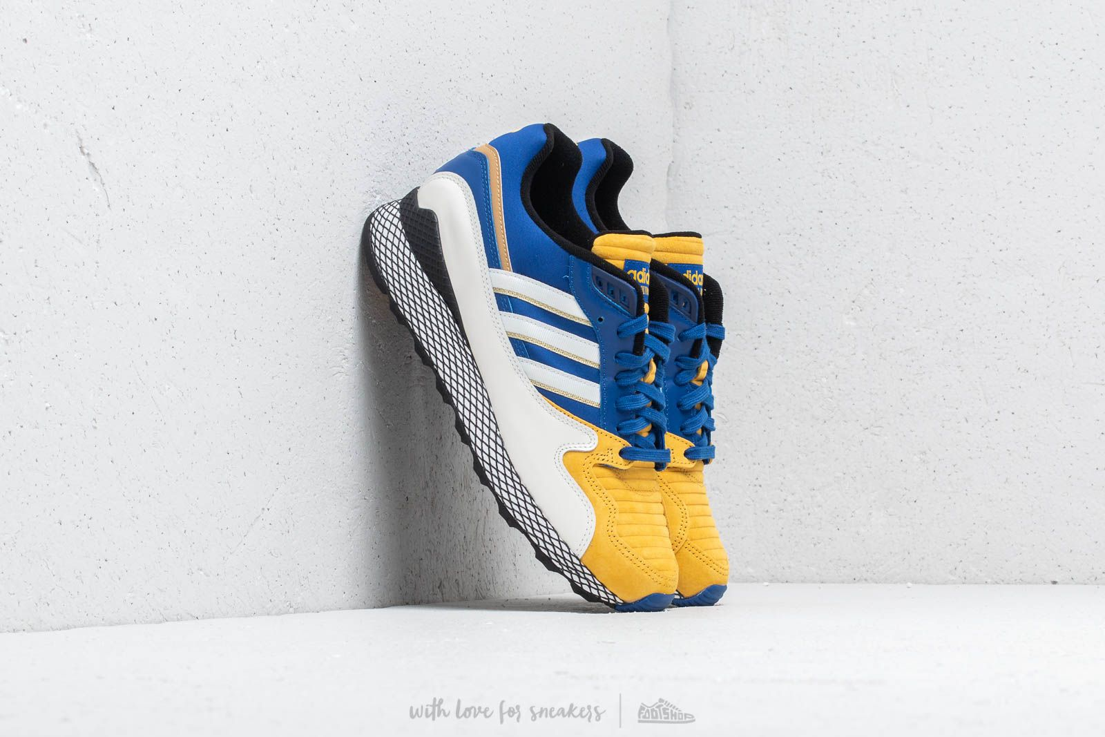 adidas x Dragon Ball Z Ultra Tech Cloud White/ Collegiate Royal/ Bold Gold