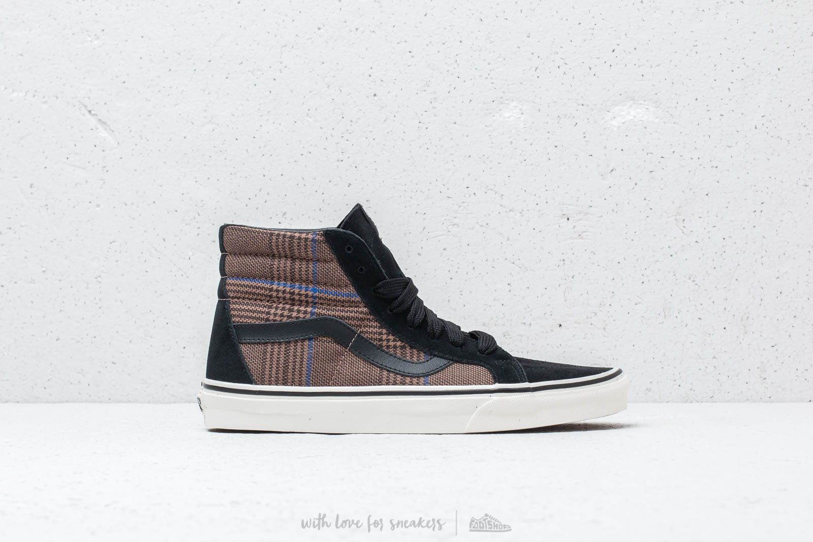 0326d5c01b522c Vans Sk8-Hi Reissue (Design Assembly) Glen Plaid  Marshmallow at a great