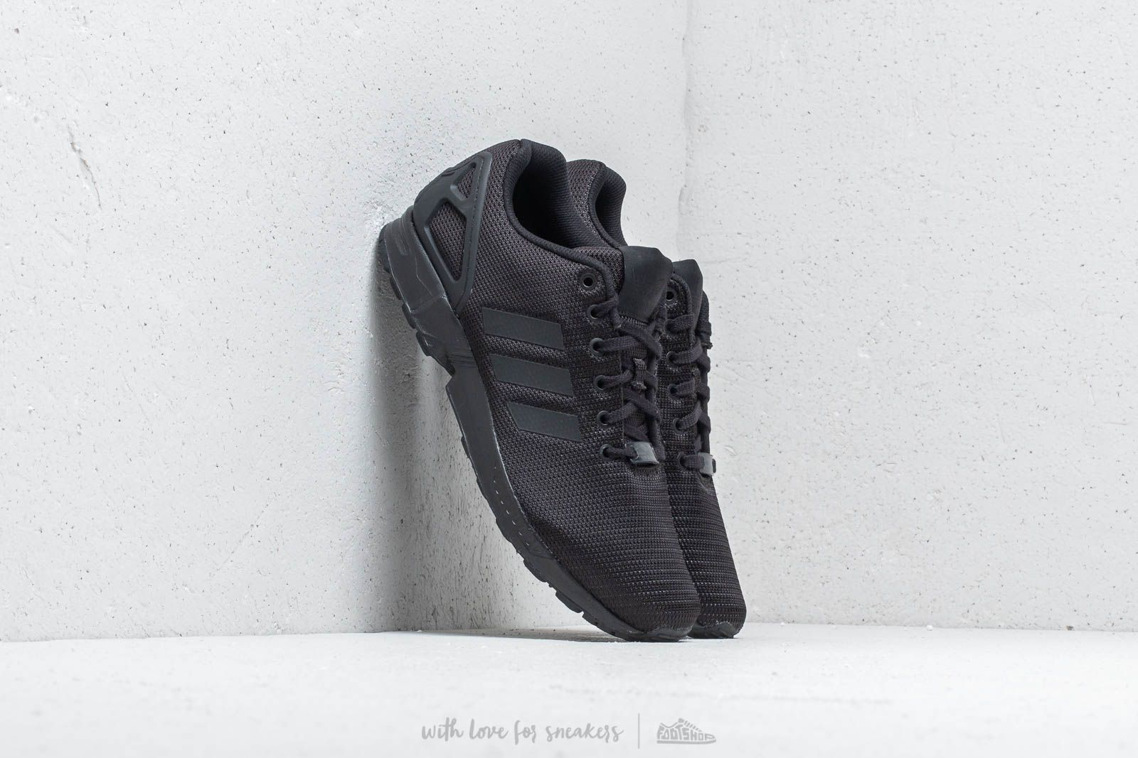 Men's shoes adidas ZX Flux Core Black/ Core Black/ Dark Grey