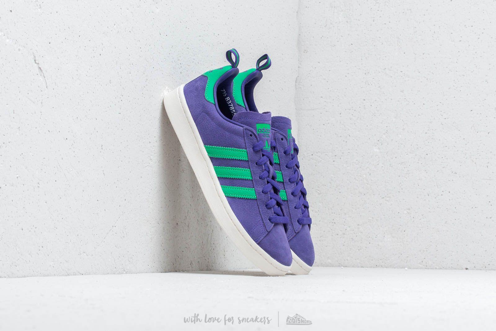 Pánské tenisky a boty adidas Campus Energy Ink/ Signal Green/ Chalk White