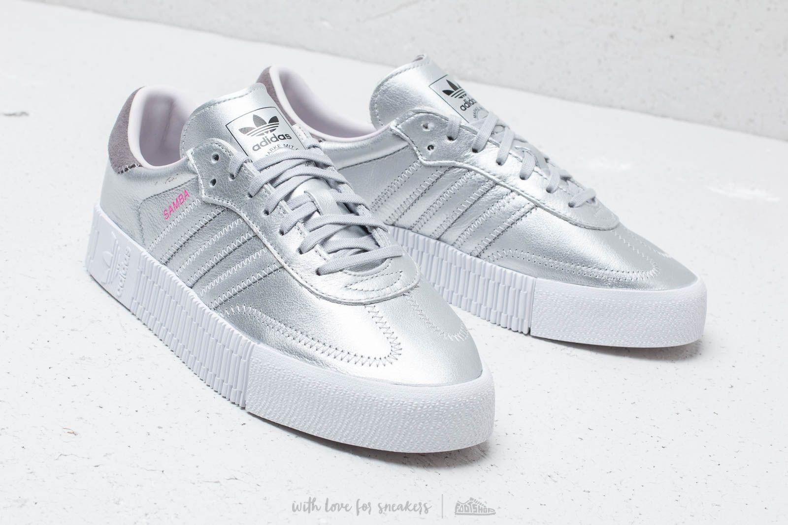 Women's shoes adidas Sambarose W Silver