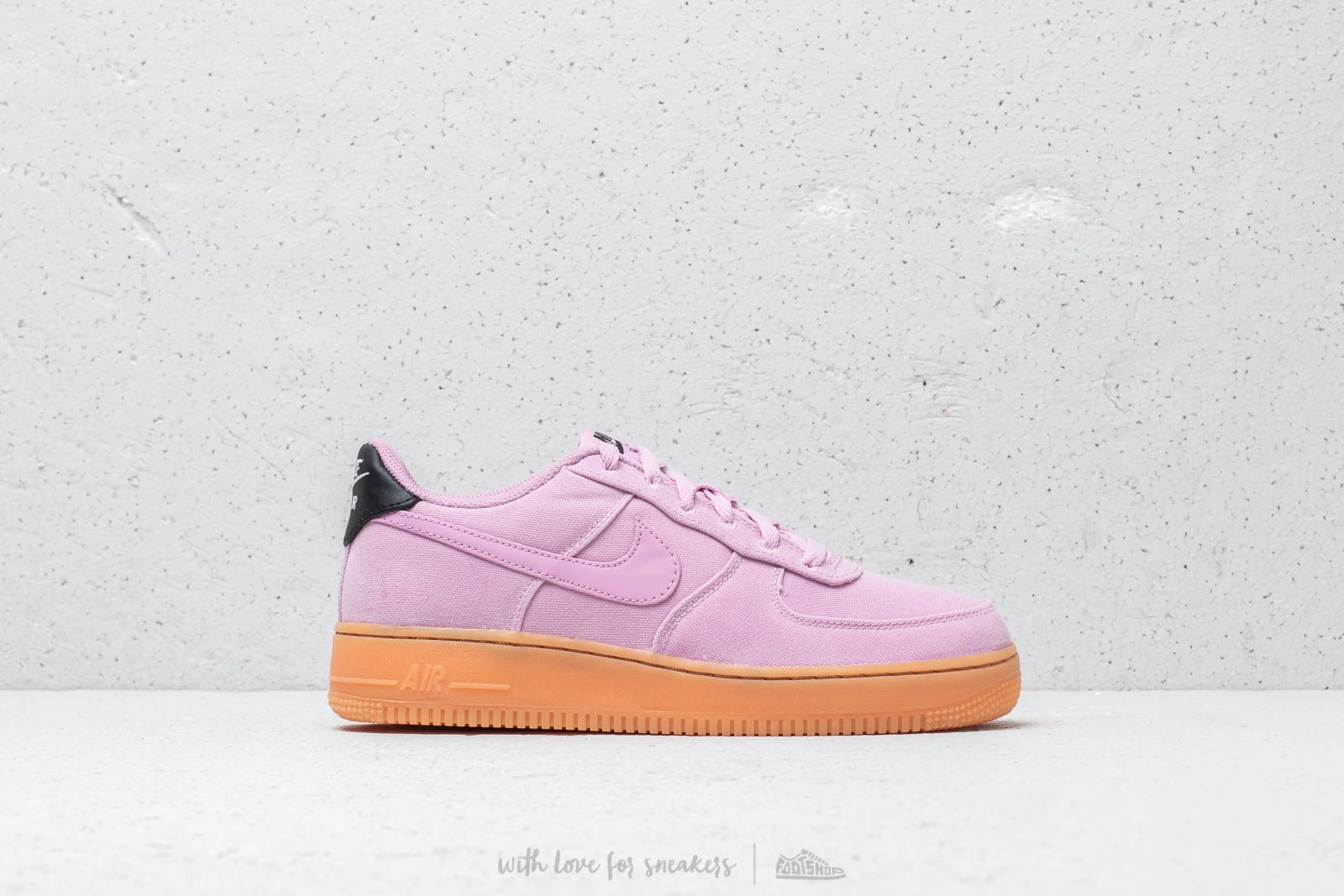 ZAPATILLAS NIKE AIR FORCE 1 LV8 STYLE LT ROSA MUJER