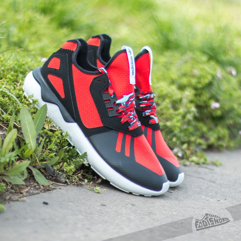 9b663a78f2367 adidas Tubular Runner Acid Wash Blk Dnm/Amazon Red | Footshop