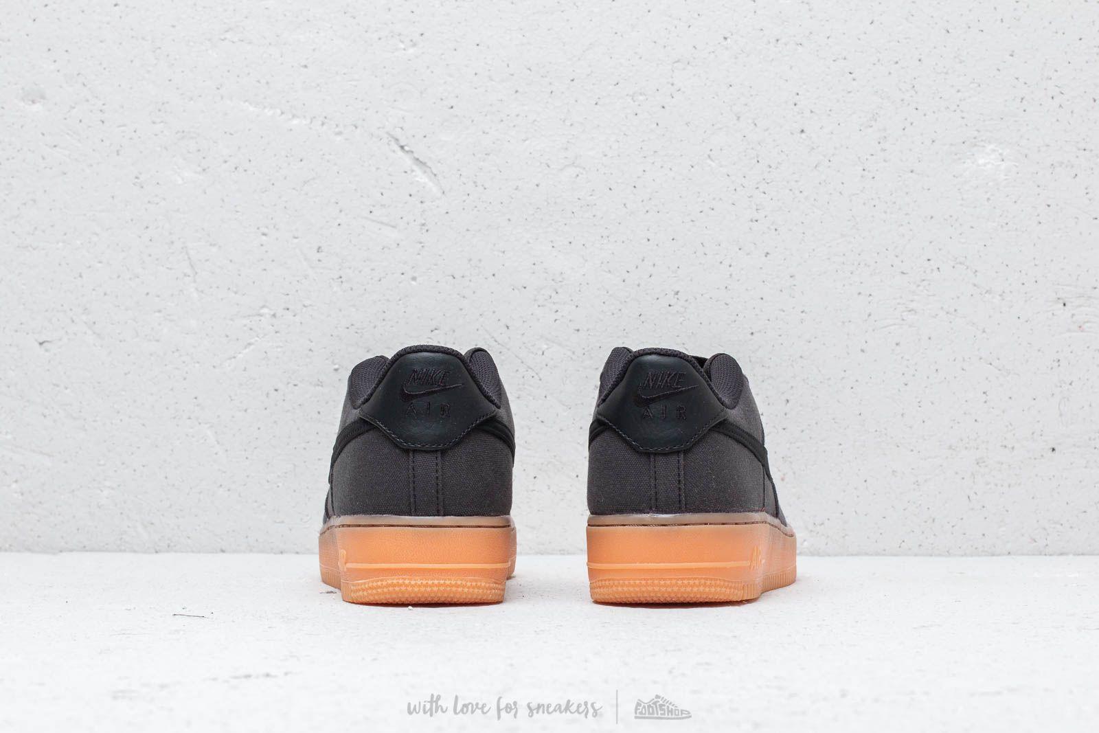 Nike Air Force 1 LV8 Style (GS) Black Black Gum Med Brown | Footshop