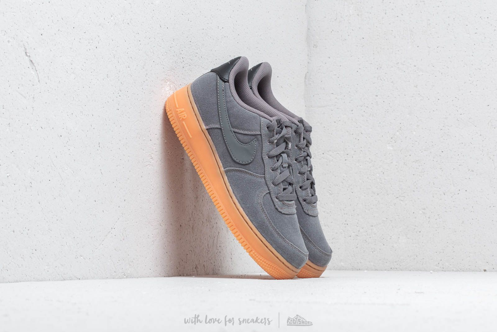 991df1bceea Nike AIr Force 1 LV8 Style (GS) Flat Pewter/ Flat Pewter | Footshop