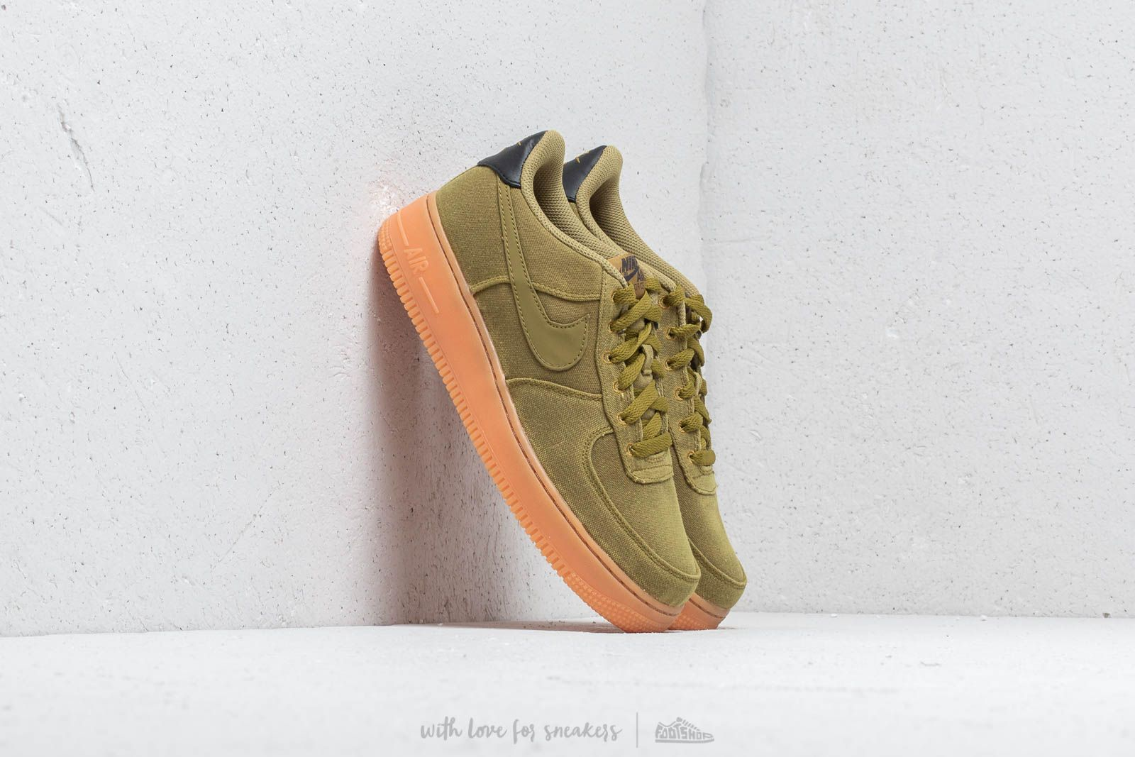 promo code 51c0c b5bd7 Nike Air Force 1 LV8 Style (GS) Camper Green  Camper Green