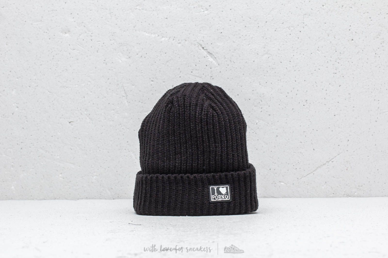 Hats LIFE IS PORNO TAXI Driver Beanie Ultra Short Black