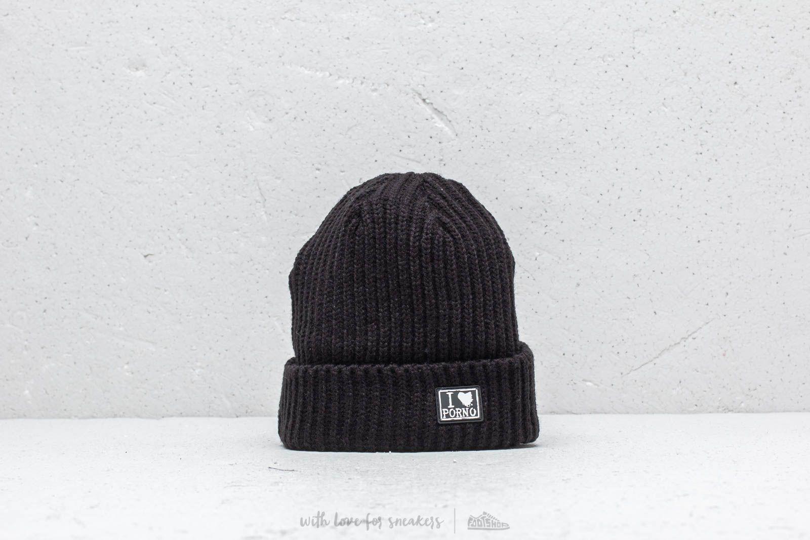 LIFE IS PORNO TAXI Driver Beanie Ultra Short Black za skvělou cenu 678 Kč koupíte na Footshop.cz