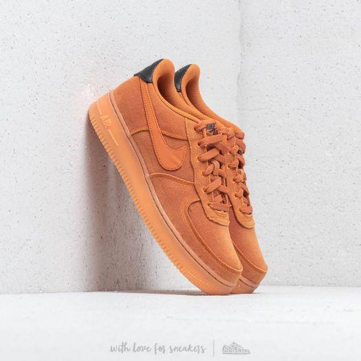 Nike Air Force 1 '07 LV8 Style Monarch/ Monarch-Gum Med Brown | Footshop